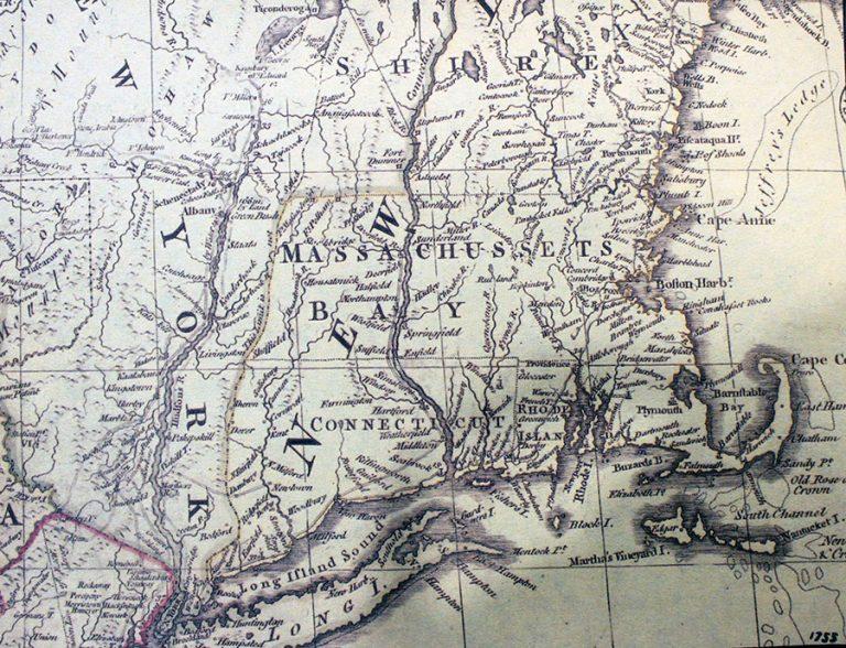 New England 1755