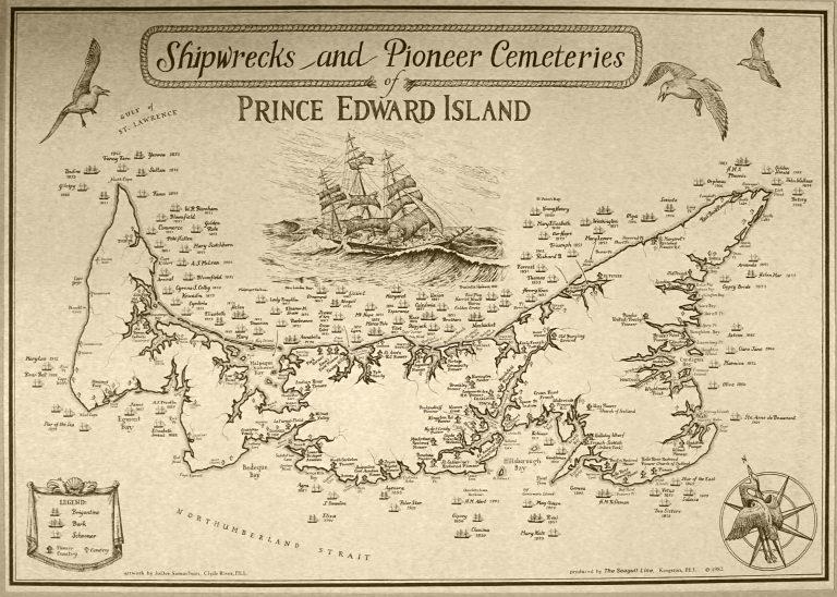 Shipwrecks And Pioneer Cemeteries of Prince Edward Island