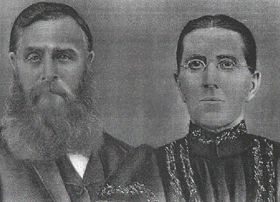 William Hierlihy and Jane Hierlihy (nee Jane Johnston). William was a grandson of Charlotte and Philip Hierlihy. His father, Philip Hierlihy, was the eldest son of Charlotte and Philip Hierlihy.  William was born in the year of Charlotte's death, 1841. Jane was born in 1839.