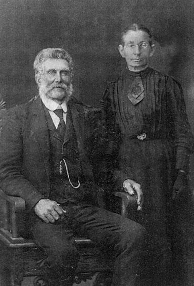 John Wishart and Elizabeth Wishart (nee Elizabeth Young). John was a grandson of Charlotte and William Wishart. His father, William Wishart, was the only son of Charlotte and William Wishart. He was born in the year of Charlotte's death, 1841. Elizabeth was born in 1840.