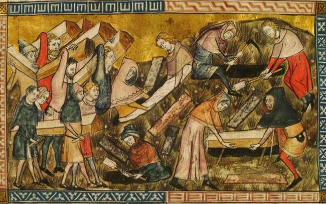 Black Death Burials