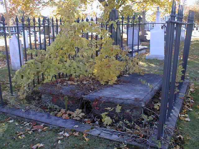 George and Alicia Sproule Burial Ground