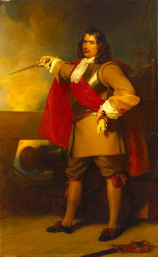 Admiral Robert Blake