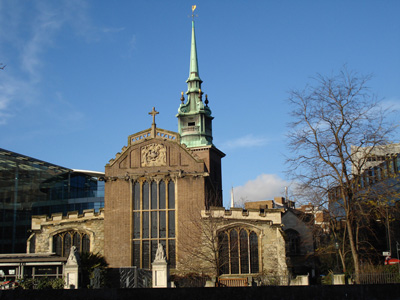 All Hallows by the Tower Church, London, England