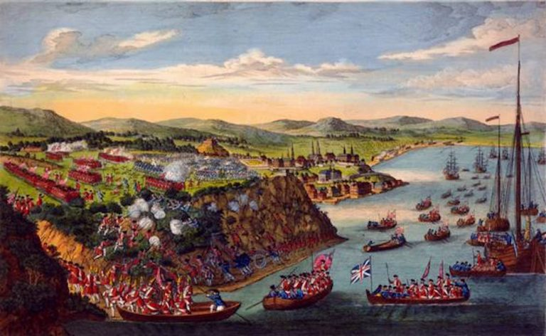A View of the Taking of Quebec