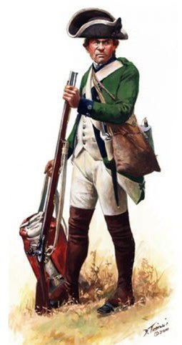 Prince of Wales American Regiment Private