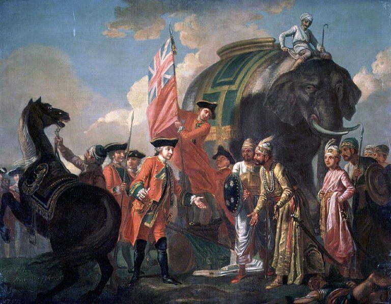 Robert Clive 1757