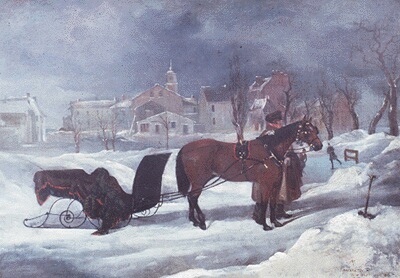 """""""View of Fredericton, 1823"""""""