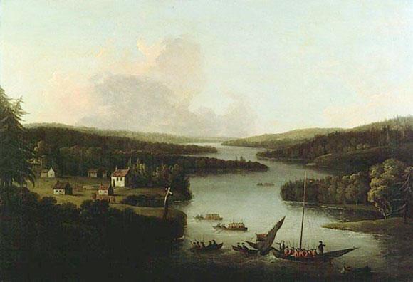 A View of Miramichi 1760