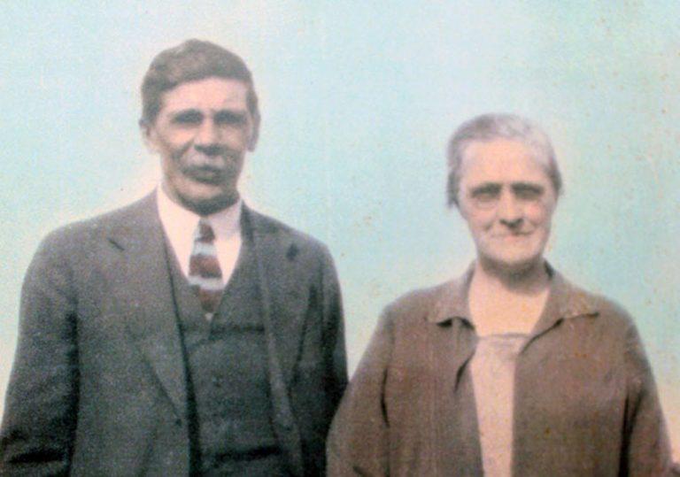 Robert Wishart and Janet Wishart